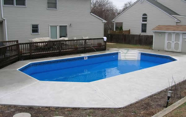 Bucks county pa swimming pool repair and liner replacement above water pools llc for Swimming pools buckinghamshire